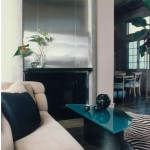 McWhorter Design - Sleek Contemporary Living Room